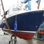 Boat under survey